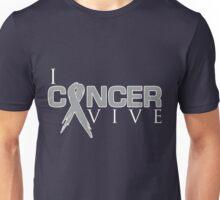 I Can Survive - Brain Cancer Unisex T-Shirt