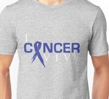 I Can Survive - Colon Cancer Unisex T-Shirt