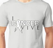 I Can Survive - Lung Cancer Unisex T-Shirt