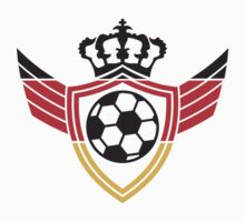 Germany Soccer Ball Blazon Logo by Style-O-Mat