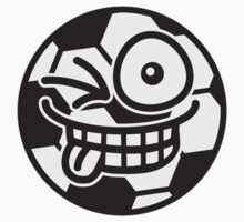 Funny Cheeky Soccer Ball by Style-O-Mat