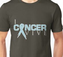 I Can Survive - Prostate Cancer Unisex T-Shirt