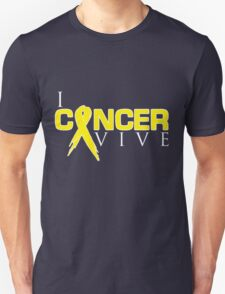 I Can Survive - Sarcoma Cancer Unisex T-Shirt