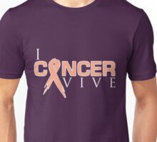 I Can Survive - Uterine Cancer Unisex T-Shirt
