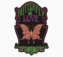 Butterfly of Love Sticker by superiorgraphix