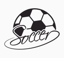 Cool Soccer Ball Logo by Style-O-Mat