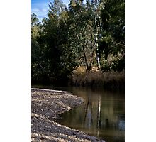 Namoi River at Narrabri Photographic Print