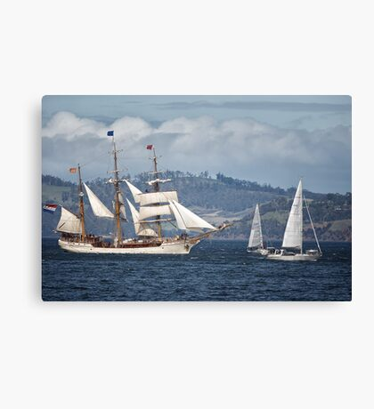 Sailing Ship Europa #9 Canvas Print