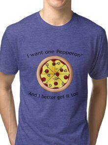 Dunkey: Pepperoni Tri-blend T-Shirt