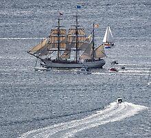 Sailing Ship Europa #6 by Chris Cobern