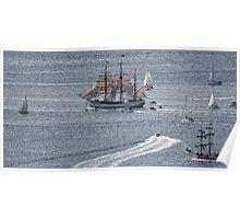 Sailing Ship Europa #6 Poster