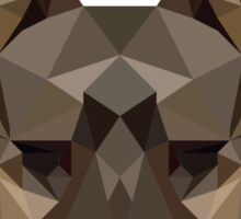 Geometric German Shepherd Sticker