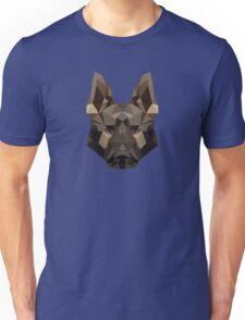 Geometric German Shepherd Unisex T-Shirt