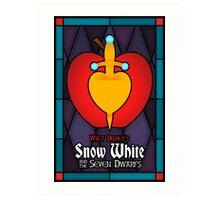 Walt Disney's Snow White and the Seven Dwarfs Art Print