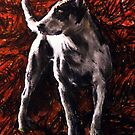 Portrait of Paul's Dog by chilby