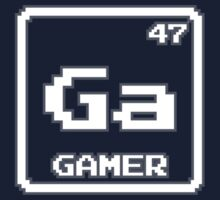 Element of the Gamer (White) by justinglen75