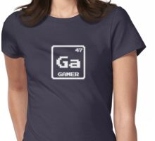 Element of the Gamer (White) Womens Fitted T-Shirt
