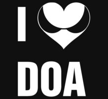 I Heart DOA (White Text) by KevinFlynn