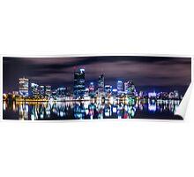 Perth Skyline, Western Australia Poster