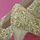 Glittery Shoes by Jaana Day