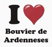 I Heart Bouvier de Ardennes by HighDesign