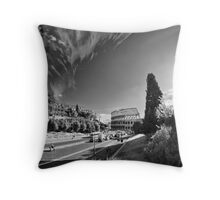 Via dei Fori Imperiali - Roma Throw Pillow