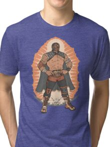 Lucha de Guadalupe Tri-blend T-Shirt