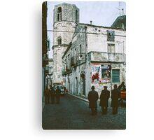 Torre dei Giganti 979 Monte S Angelo 19840405 0033  Canvas Print