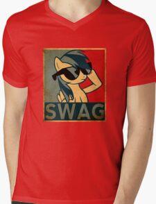 Rainbow Dash Swag Mens V-Neck T-Shirt