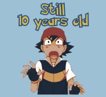 Ash Ketchum - Still 10 years old by ChrisButler