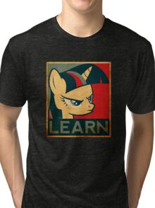 Learn - Twilight Sparkle Tri-blend T-Shirt