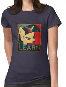 Learn - Twilight Sparkle Womens Fitted T-Shirt
