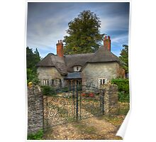 Keys Lodge Cottage Poster