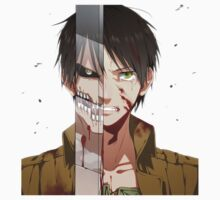 Eren half Titan Attack on Titan by VirtualMan