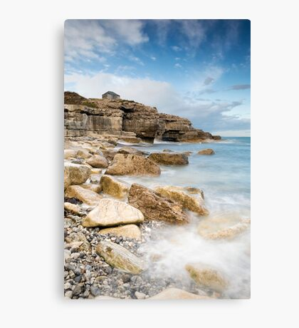The Overlook at Portland Bill Canvas Print