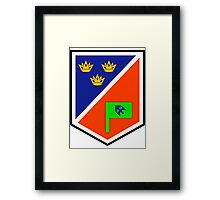 1 Brigade Headquarters patch Framed Print
