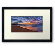 Morning Glory - Palm Beach Sydney - The HDR Experience Framed Print