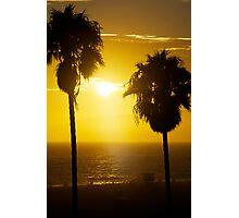 Lazy Sunset Photographic Print