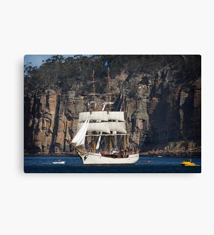 Sailing Ship Europa Canvas Print