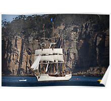 Sailing Ship Europa Poster