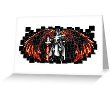 Angel of Fire Greeting Card