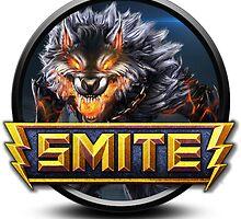 Smite Fenrir Logo by SellShirts