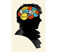 Sherlock Phrenology Photographic Print