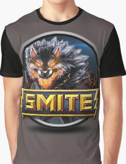 Smite Fenrir Logo Graphic T-Shirt