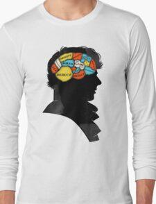 Sherlock Phrenology Long Sleeve T-Shirt