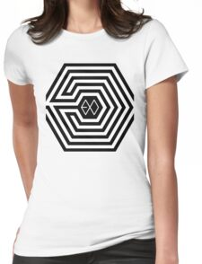 EXO-K 'Overdose' Maze Womens Fitted T-Shirt