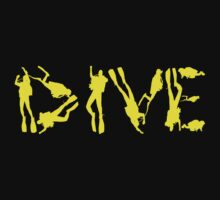 DIVE WITH DIVERS IN YELLOW by BelfastBoy