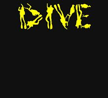DIVE WITH DIVERS IN YELLOW Unisex T-Shirt