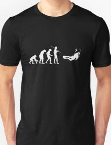 Evolution to Scuba Diver WHITE T-Shirt