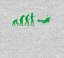 Evolution to Scuba Diver GREEN Unisex T-Shirt